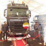 ولوو FH16 قویترین کامیون کشنده جهان اکنون در جاده های ایران